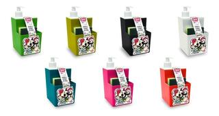 Dispenser Detergente Con Porta Esponja Quo Pettish Online