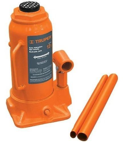 Gato Hidraulico T. Botella 12 Ton Truper 14818