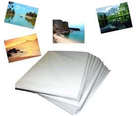 600 Folhas Papel Foto Glossy 180g Brilho Prova Dagua-oferta