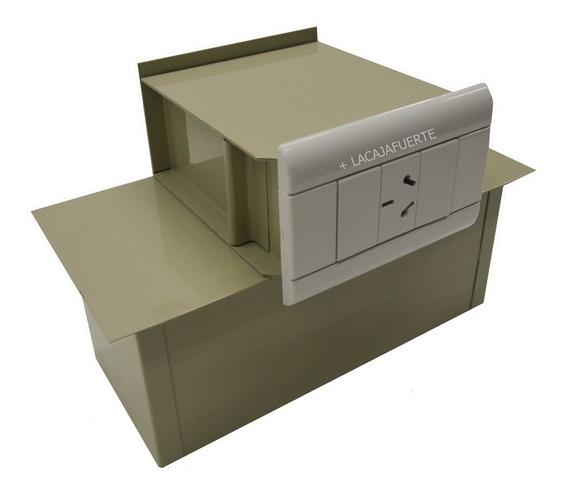 Caja Fuerte Simulada Enchufe Triple Tapa De Luz De Seguridad