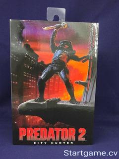 Figura Original Depredador 2 City Hunter Neca