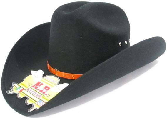 Sombrero Vaquero Forrado Nr Durango.