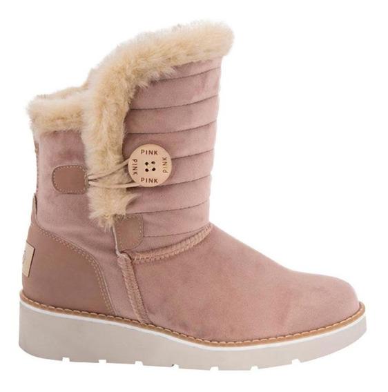 Bota De Descanso Pink By Price Shoes 1400 181443