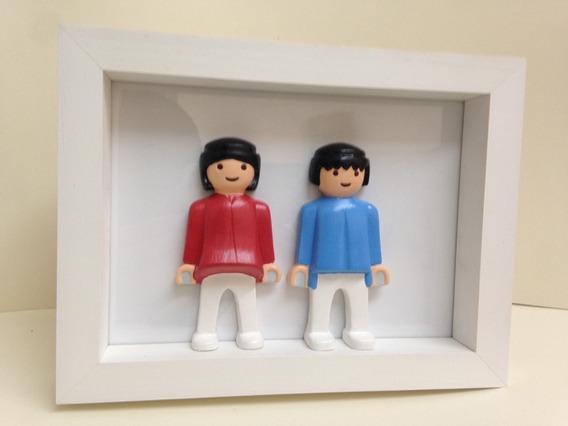 Cuadro Playmobil Duo