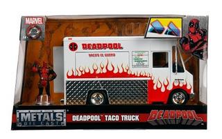 Deadpool Food Truck Taco - Jada - Escala 1/24 - Original