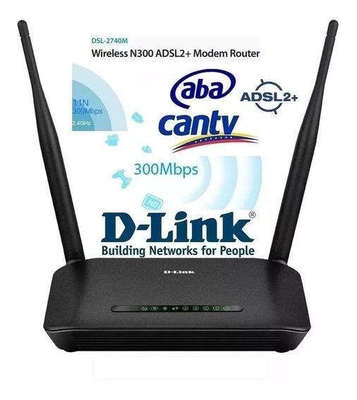 Modem Router Tp-link Aba Cantv Wifi Dlink Explorer Internet