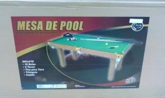 Mesa De Pool Grande Toys Jeidy Original