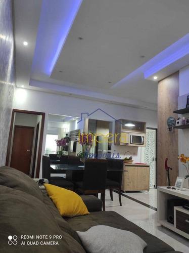 Casa Com 3 Dormitórios À Venda, 78 M² Por R$ 360.000,00 - Jardim Rodolfo - São José Dos Campos/sp - Ca0542