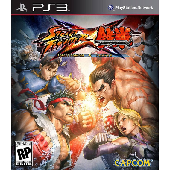 Street Fighter® X Tekken® + Mars: War Logs Ps3