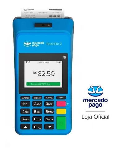 Imagem 1 de 7 de Maquininha Point Pro 2 - A Máquina De Cartão Do Mercado Pago