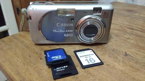Câmera Digital Canon Powershot A430