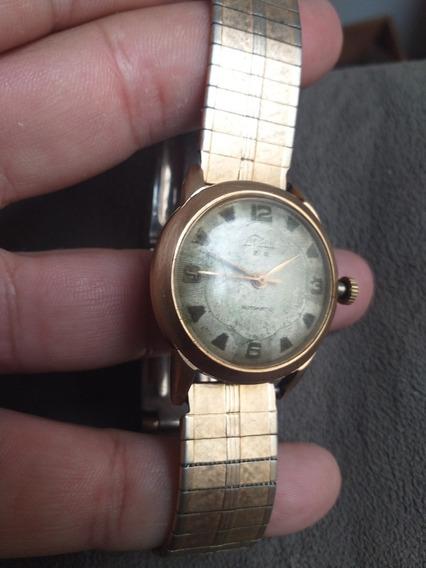 Relógio Lincoln 25e15 Automátic Antimagnetic Antigo 21 Rubis