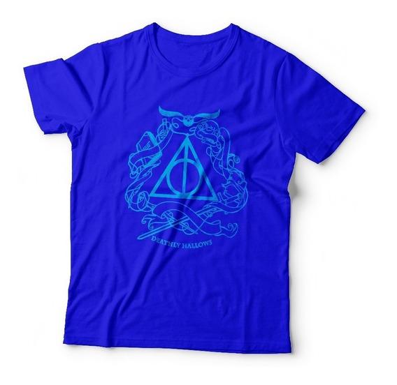 Camiseta Harry Potter - 100% Algodão Manga Curta