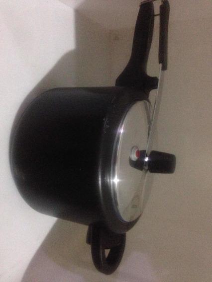 Panela De Pressão Rochedo Teflon 4.5l Nova Saldo Com Riscos