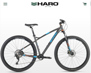 Bicicleta Haro Double Peak 29 Comp - Deore-disco Hidráulico.