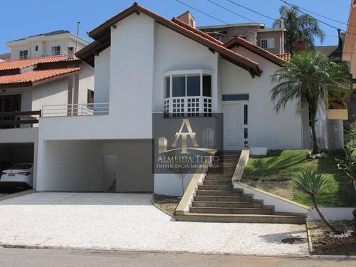 Excelente Casa No Residencial Alphaville 11 Com Área De 400m² Por R$:1.930.000,00. Oportunidade Devido Pandemia 2021. - Ca2501