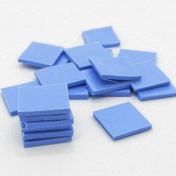 Kit 10 Thermal Pad 10x10x1mm Dissipador Memoria Cpu Vga Bga