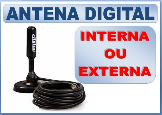 Antena Interna Tv Digital Hdtv Dtv 100