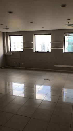 Sala Em Brooklin, São Paulo/sp De 50m² À Venda Por R$ 380.000,00 - Sa974230