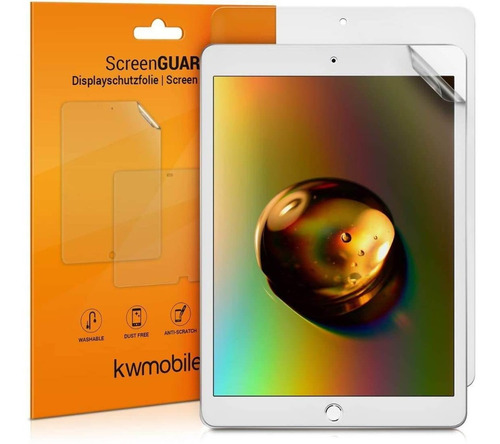 Protector De Pantalla Kwmobile X2 Unidades Para iPad 10.2