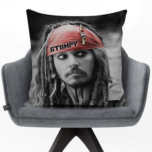 Stompy 2020 Capa Para Almofada 60x60 Jack Sparrow