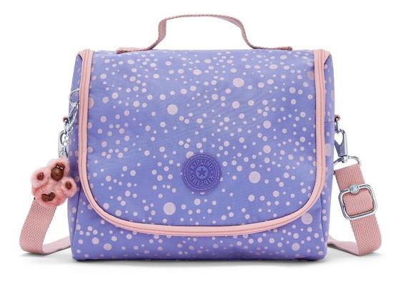 Lancheira Térmica New Kichirou Kipling Purple Twinkle Lilás