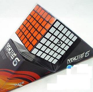 Cubo Rubik 6x6x6 V-cube Alta Velocidad Negro Flat Dificil