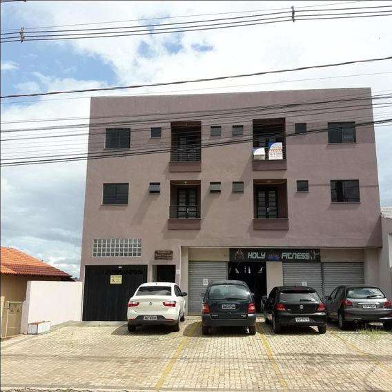 Apartamento Com 2 Dormitórios Para Alugar, 60 M² Por R$ 1.000/mês - Jardim Carvalho - Ponta Grossa/pr - Ap0103