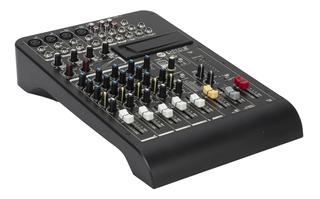 Rcf Lpad 12x Fx - Consola Mixer Audio 12 Canales Efectos Usb