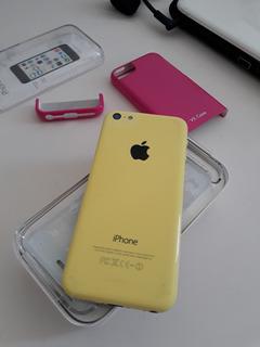iPhone 5 C 16 Gb (amarelo) (c/ Defeito Placa)
