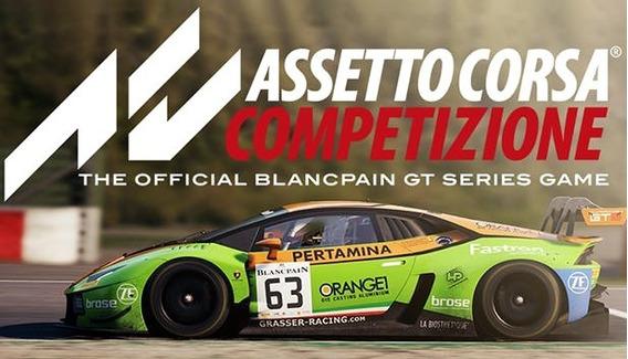 Assetto Corsa Competizione (mídia Física) Pc - Dvd