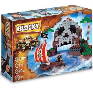 Blocky Rasti Isla Pirata 340 Pz Bloques Piratas @ Mca