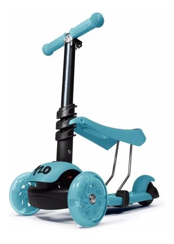 Imagen 1 de 5 de Monopatin 720 Andador Scooter 3 En 1 Luces Pata Pata Niños
