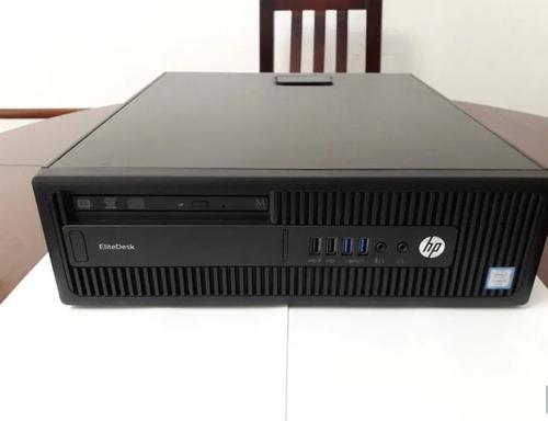 Desktop Hp Elitedesk 800 G2 Core I5 6ªg Ssd 240gb 8gb Ram