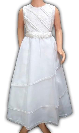 Bello Vestido De Comunion Encaje Elegante 2102 Children´s