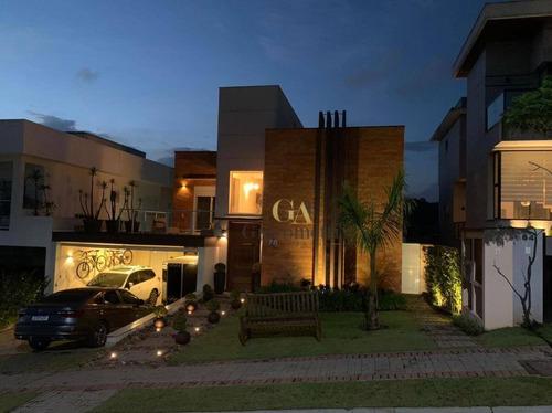 Imagem 1 de 30 de Casa Com 4 Dormitórios À Venda, 374 M² Por R$ 3.800.000 - Tamboré - Santana De Parnaíba/sp - Ca0584