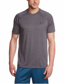 Playera Under Armour Manga Corta Gris Oscuro Xxl
