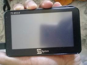 Tela Touch E Display Do Gps Telesystem Ts 8514