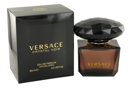 Perfume Versace Crystal Noir 90ml Para Damas 100% Original