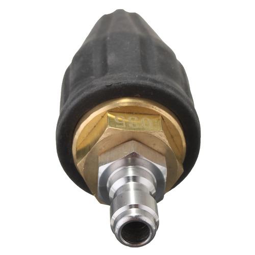 Rotating Spray Turbo Boquilla para lavadora de alta presi/ón Boquilla Giratoria Turbo conector r/ápido de 1//4 pulgadas Lavadora de alta presi/ón Boquilla turbo giratoria 3600PSI 035