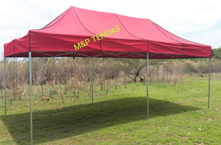 Tenda Sanfonada 6x3 De Ferro