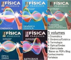 Coleção Física Clássica 5 Volumes Completa