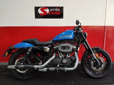 Harley Davidson Sportster Xl 1200 Cx Roadster Abs 2018 Azul
