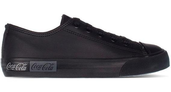 Tênis Coca Cola Basket Blend All Black