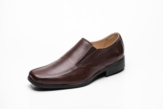 Zapato Cuero Hombres Punta Cuadrada- Renno Calzados- 500