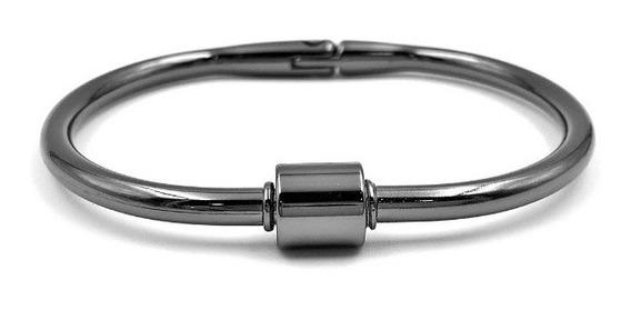 Pulseira Bracelete Mosquetão Unisex Linda Excelente Qualidad