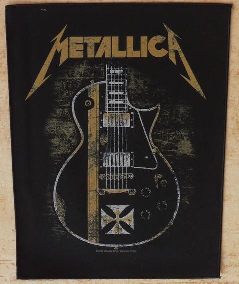 Back Patch Para Costas De Jaqueta - Metallica - Bp33 Oficial