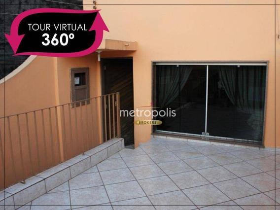 Sobrado Com 2 Dormitórios À Venda, 90 M² Por R$ 390.000,00 - Osvaldo Cruz - São Caetano Do Sul/sp - So0887
