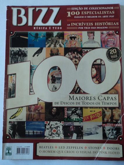 Revista-bizz:edição 1:maiores Capas:beatles,led Zeppelin