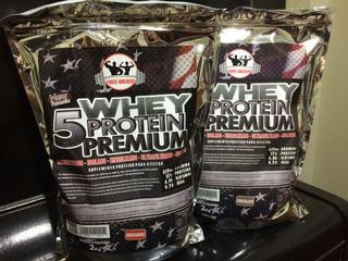 Whey Protein 5w 2kg (2000g) - Forcebuilders